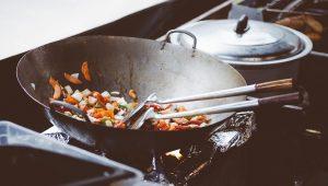 cooking, wok, chinese